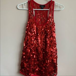 ✨ Red Sequin Tank ✨ 3 for $33 ✨